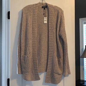 Super Soft Waffle Knit Cardigan Sweater